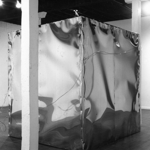 Tom Sherman, Faraday Cage, 1973