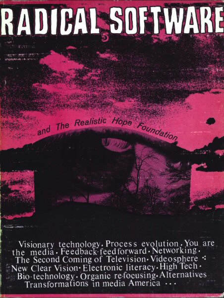 Radical Software, volume I, numéro 5, 1972