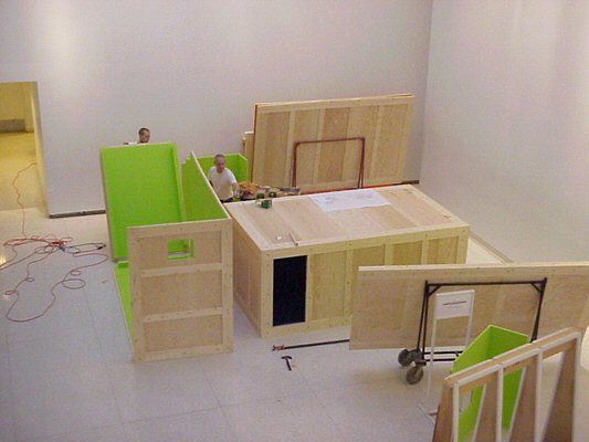 Raqs Media Collective & Atelier Bow Wow, Temporary Autonomous Sarai, 2003