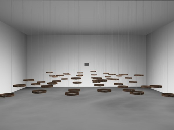 Rafael Lozano-Hemmer, Standards and Double Standards, 2004
