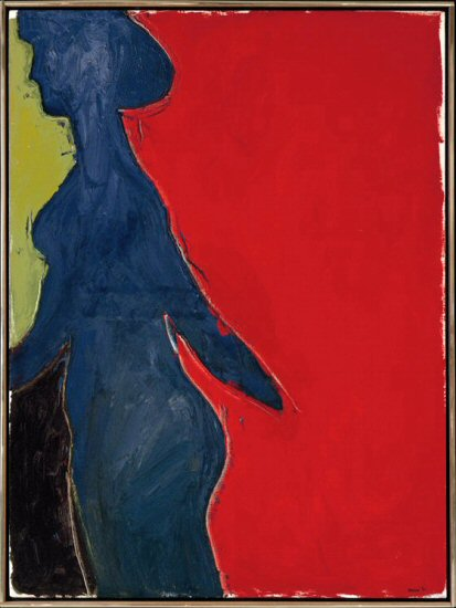 Michael Snow, Blue Leaving (1961)