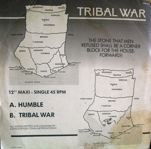 Consular, Humble & Tribal War (ca 1986)