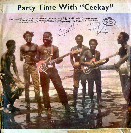 C.K. Mann & His Carousel 7, Party Time with Ceekay (1973)